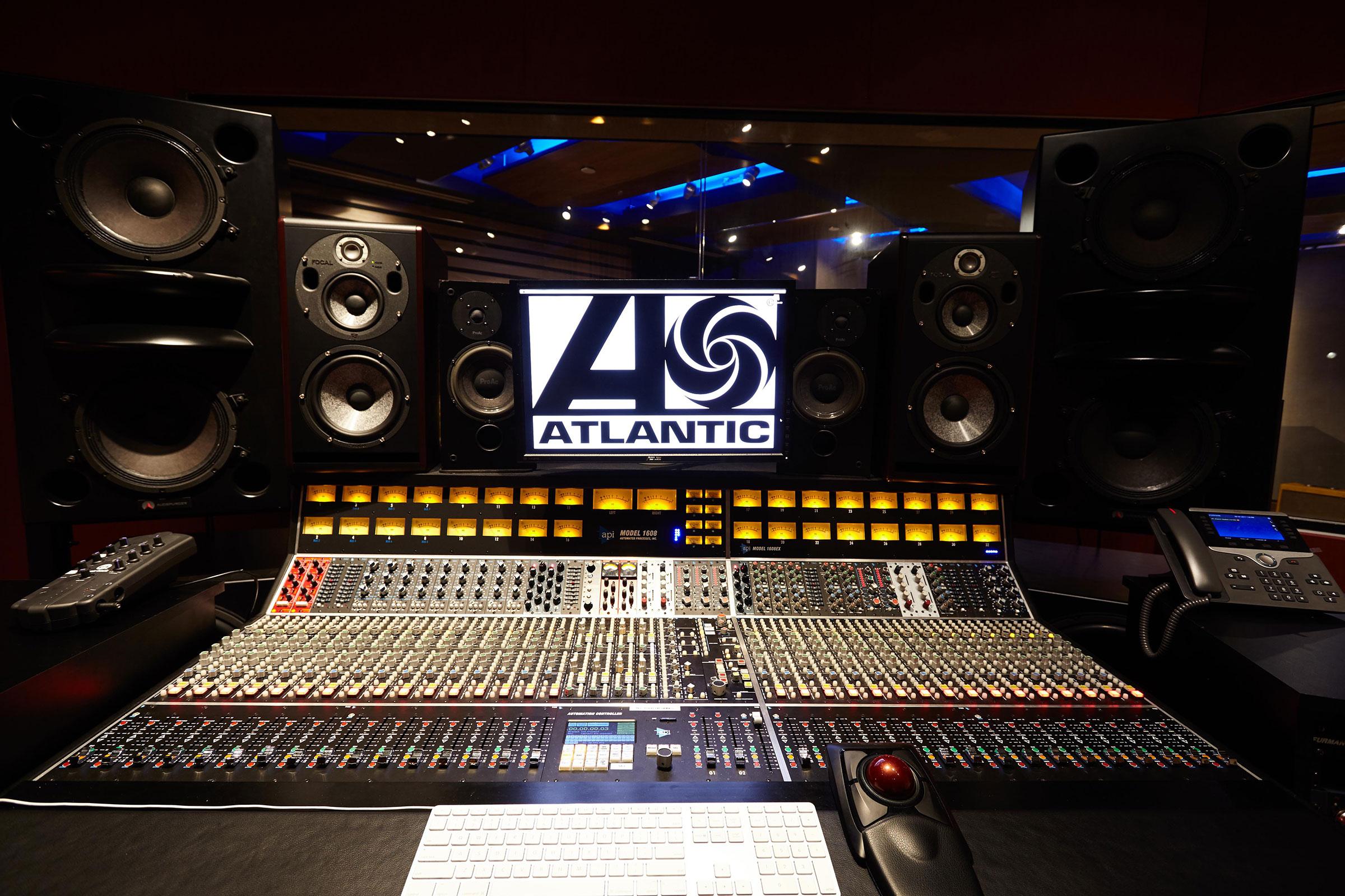 Atl Studios Atlantic Records Studio Nyc